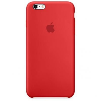 Apple iPhone 6s Plus Silicone Ca Red