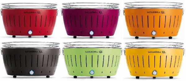 LotusGrill XL Lime corn yellow żółty