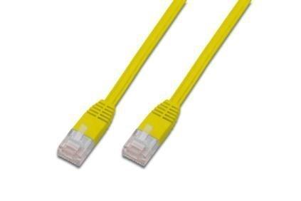 Kabel sieciowy Cat5e UTP płaski yl 7,5m