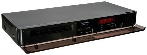 Panasonic DMR-BCT750 (czarny) - Blu-ray Recorder (Twin HD DVB-C/T Tuner, 500GB HDD, WLAN, 2x CI+, HbbTV, 4K Upscaling)