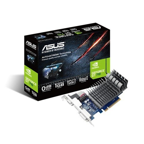 ASUS GeForce GT 710-SL-BRK, HDMI, DVI-D, VGA