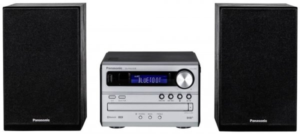 Panasonic SC PM 250B DAB+ Micro HiFi Bluetooth srebrny czarny