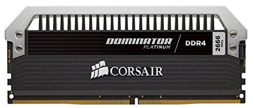 Corsair  16GB DDR4-2666 Kit, CMD16GX4M2A2666C15, Dominator Platinum