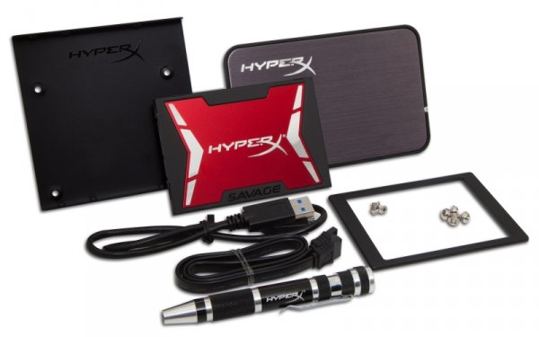 Kingston HyperX SHSS3B7A/480G - 480 GB SSD - SATA - Savage UPGRADE-KIT