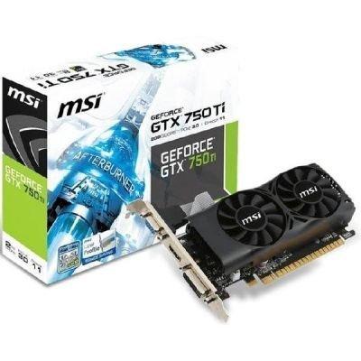 MSI GeForce GTX 750Ti-2GD5TLP, HDMI, DVI-D, VGA, Retail