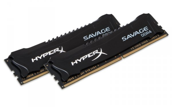 Kingston HyperX 32GB DDR4-2666 Kit, HX426C15SBK2/32, Savage