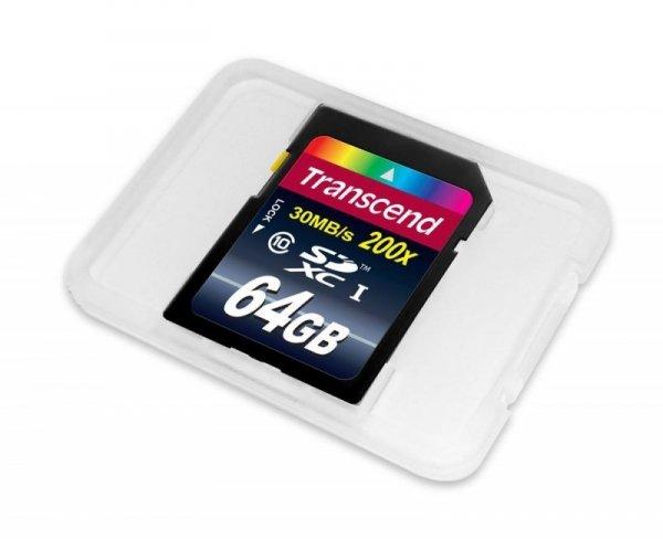 Transcend SD Karte SDXC 64GB Class 10