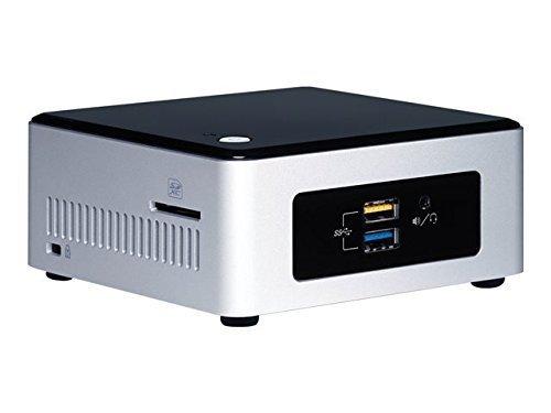 Intel NUC Kit NUC5CPYH  Intel Celeron N3050, Barebone srebrny/czarny