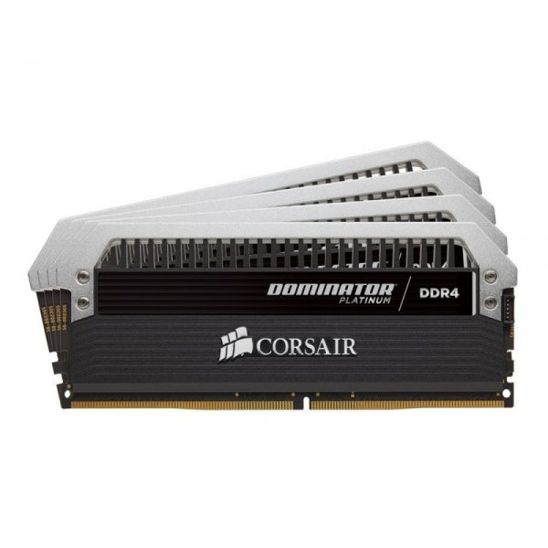 Corsair  64GB DDR4-2400 Quad-Kit, CMD64GX4M4A2400C14, Dominator Platinum