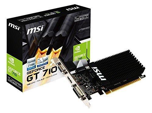 MSI GeForce GT 710 1GD3H LP, HDMI, DVI-D, VGA