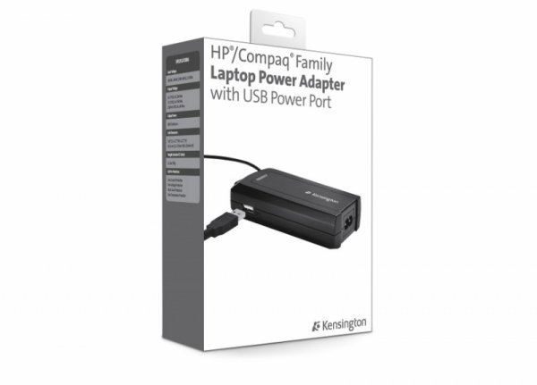 Kensington Power Adapter do HP/Compaq USB 90W - K38082EU