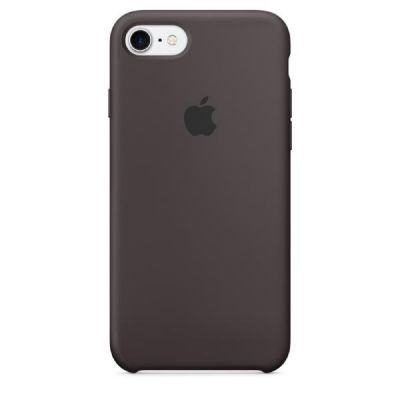 Apple iPhone 7 Silicone Case Cocoa