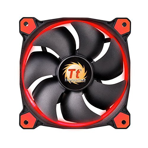 Thermaltake Riing 140 mm LED czerwony