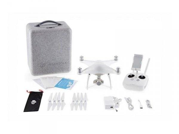 DJI Phantom 4 Quadrokopter Dron + 4K Kamera, Gimbal i Pilot