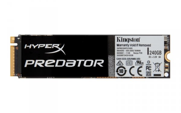 Kingston HyperX Predator 240 GB SSD SATA M.2