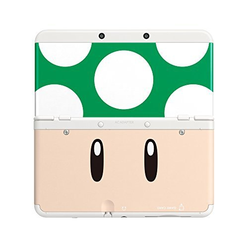 Nintendo New 3DS Cover 008 Toad green