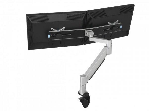 Vogels PFA 9102 Doppel Monitor Adapter srebrny-czarny