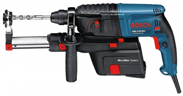 Bosch GBH 2-23 REA Professional niebieski, Walizka