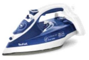 Tefal Ultimate Steam Power niebieski/biały