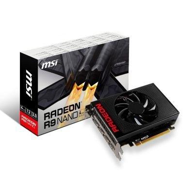 MSI R9 NANO 4G, Radeon R9 Nano  4GB HBM, DirectX 12.0, HDMI, 3x DisplayPort