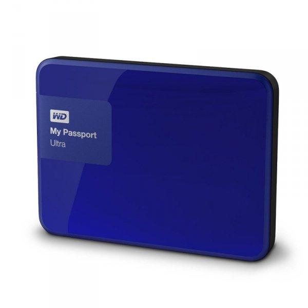 WD MyPassport Ultra 3TB niebieski dysk zewnętrzny USB 3.0