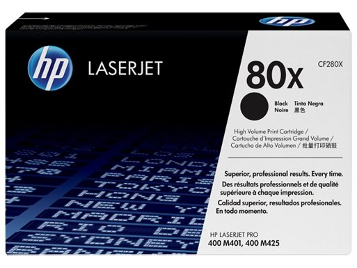 Toner HP CF280X       black       CF280X Contract