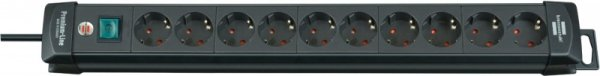 Brennenstuhl Premium black S 10x