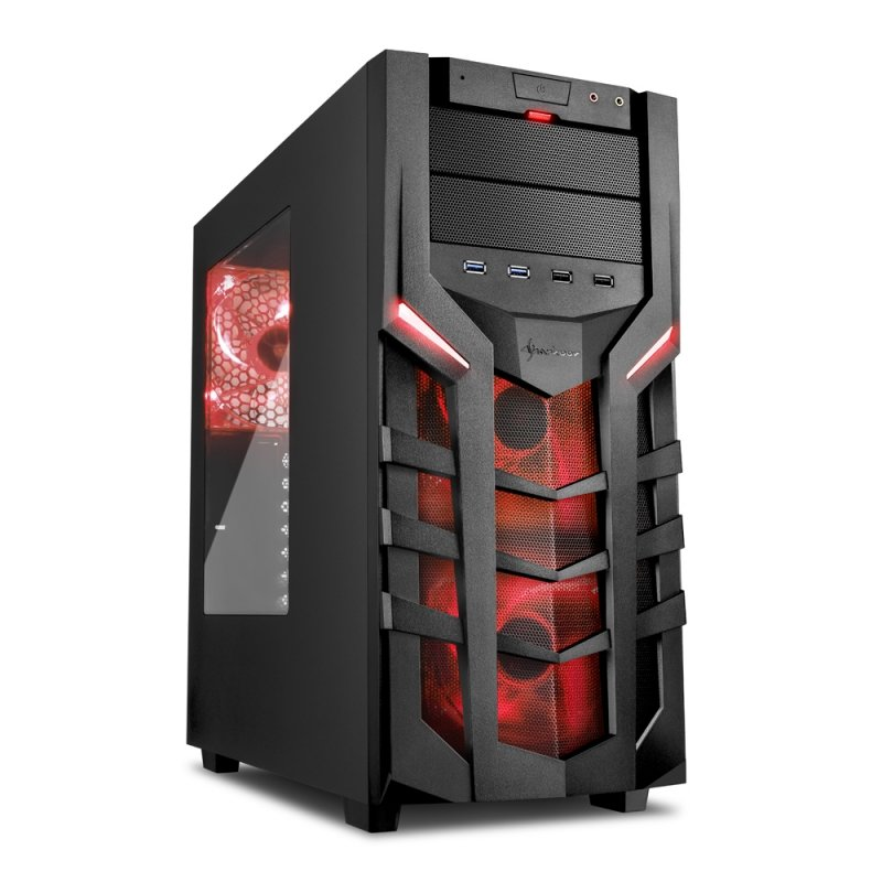 Red tower pc