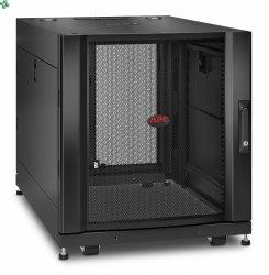APC NetShelter SX 12U Server Rack Enclosure 600mm x 900mm w/ Sides Black AR3003