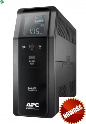 BR1200SI APC Power-Saving Back-UPS Pro 1200VA/720W, 230V, Sinus na wyjściu