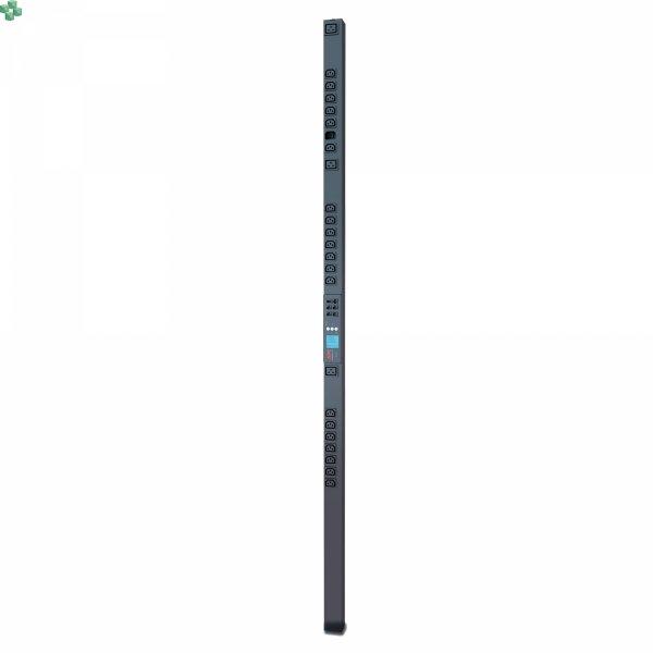 AP8459WW Listwa zasilająca PDU do montażu w szafie 2G, monitorowana z dokładnością do jednego gniazda, Zero U, 16 A, 100–240 V, (21) C13 i (3) C19