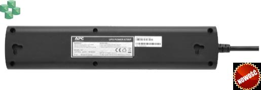 Listwa zasilająca do zasilacza UPS marki APC, z IEC C14 na 4 gniazda z zabezpieczeniami (CEE 7/3), 230 V, Niemcy (PZ42I-GR)
