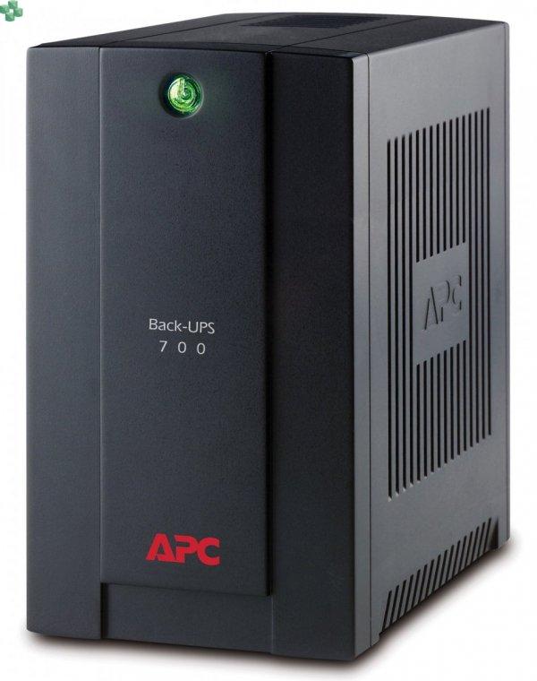 BX700U-GR APC Back-UPS 700VA/390W, AVR, gniazda Schuko