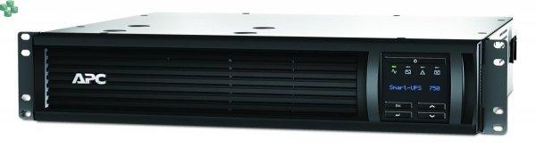 SMT750RMI2UNC APC Smart-UPS 750 VA LCD do montażu w szafie, 2U, 230 V z kartą sieciową