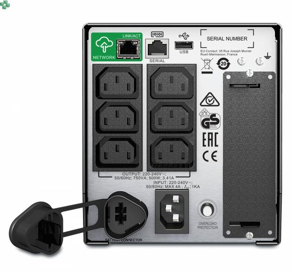 SMT750IC APC Smart-UPS 750VA/500W LCD 230V z funkcją SmartConnect
