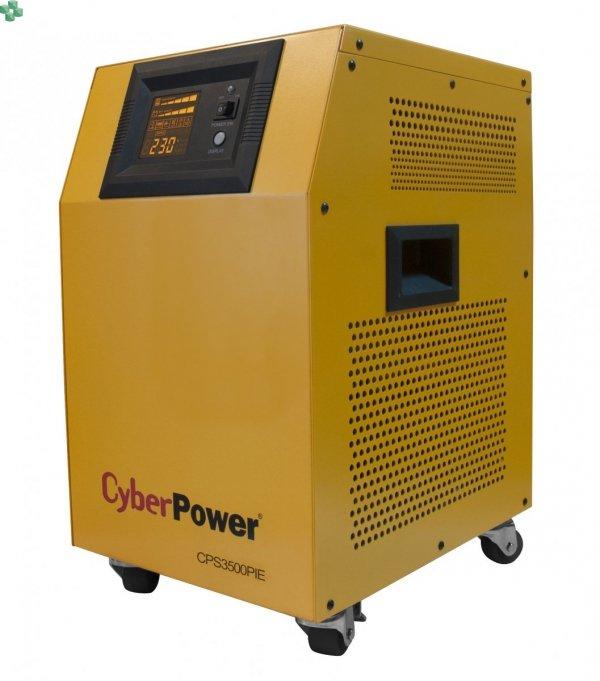 CPS3500PRO Zasilacz UPS CyberPower 3500VA/2450W, długie czasy podtrzymania, sinus na wyjściu, opcja karty sieciowej. Baterie zewnętrzne do kupienia osobno.