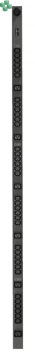 VERTIV listwa PDU BASIC (36) C13, (6) C19, 3Ph, 16A, 11kW (VP7557)
