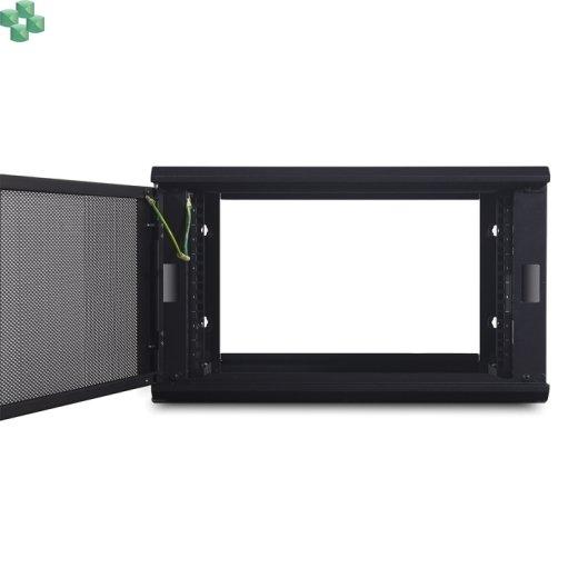 """AR106 Szafa Rack APC NetShelter WX 6U do montażu na ścianie, 19""""  (400mm głębokości)."""