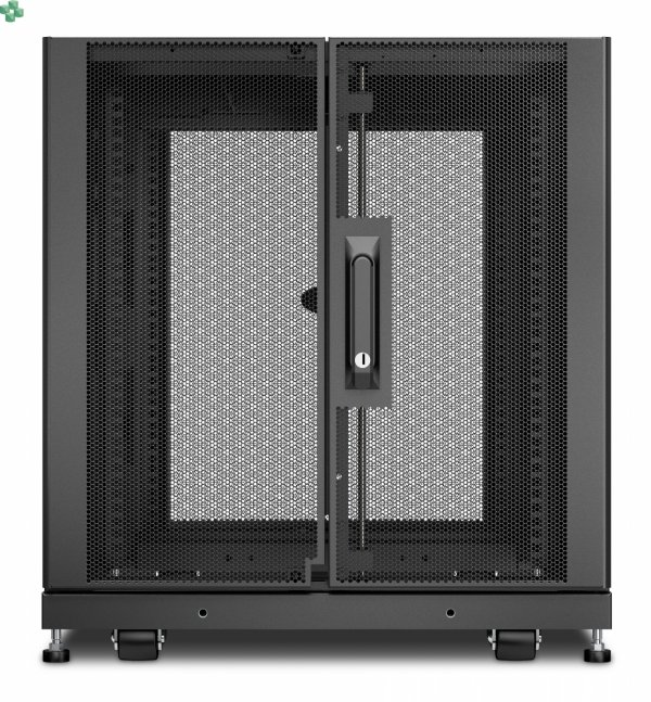 APC NetShelter SX 12U Server Rack Enclosure 600mm x 1070mm w/ Sides Black AR3103
