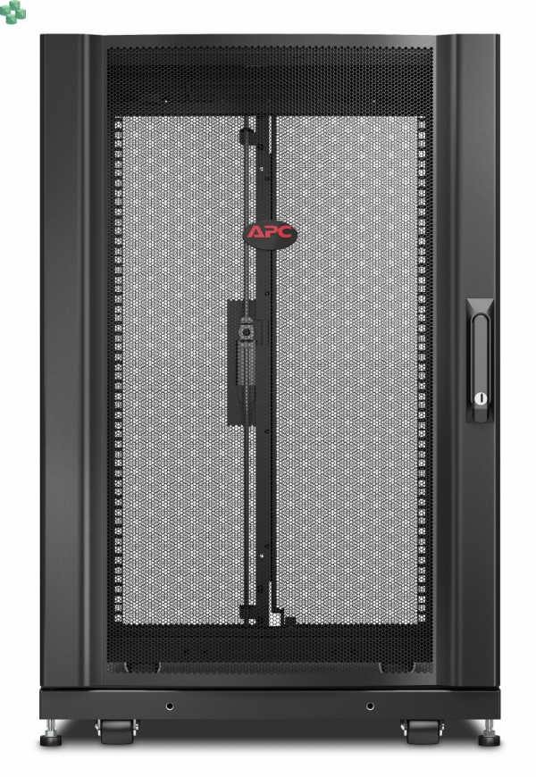APC NetShelter SX 18U Server Rack Enclosure 600mm x 1070mm w/ Sides Black AR3106
