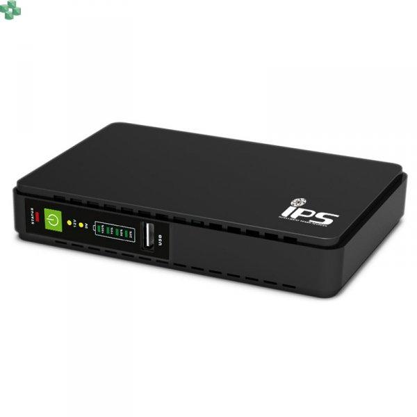 RouterUPS-30 Dedykowany zasilacz awaryjny UPS 30W do routera, z funkcją ładowania urządzeń mobilnych
