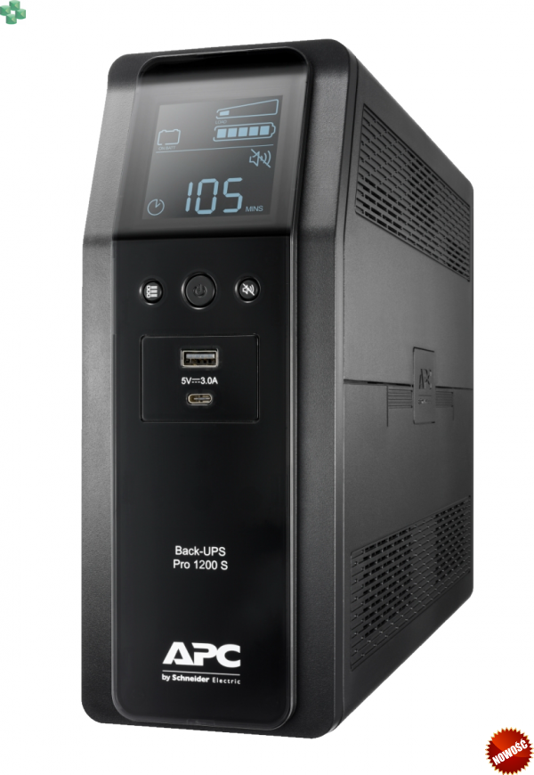BR1200SI APC Power-Saving Back-UPS Pro 1200VA/720W, 230V, Sinus na wyjściu