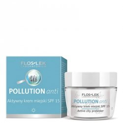 Aktywny krem miejski SPF 15 POLLUTION ANTI Floslek