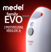 Inhalator Pneumatyczno Tłokowy Medel Family Evo z Przyspieszoną Nebulizacją