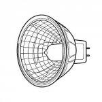Halogen 20 WAT do Lampy Heine HL 1200 z Gęsią Szyją