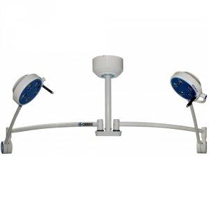 Lampa Zabiegowo-Diagnostyczna L21-25T LED Bezcieniowa, Sufitowa - Dwuczaszowa