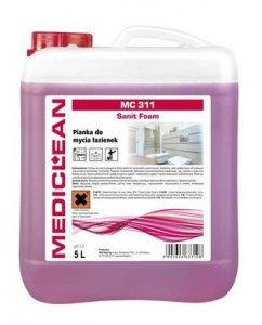 Pianka do Mycia Urządzeń Sanitarnych MC-311 - 500ml, 5l