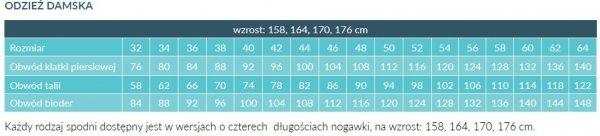Fartuch Damski 0202 - Różne Rodzaje