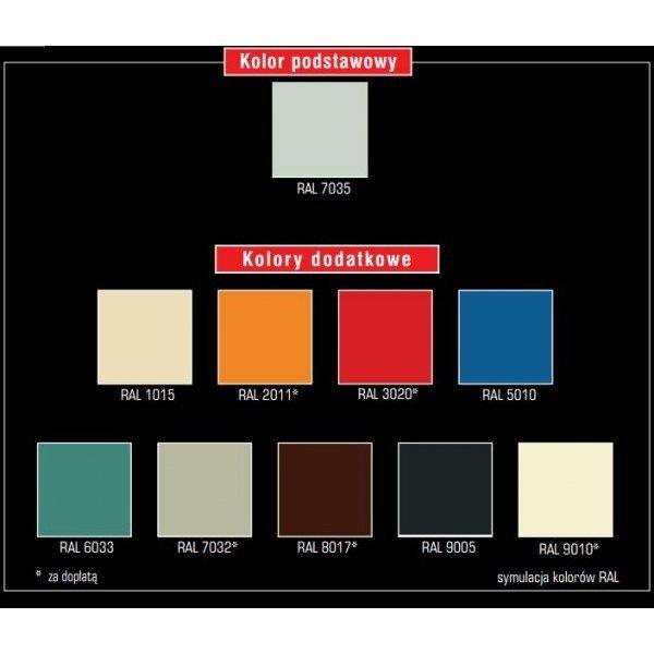 Szafa BHP Trzydrzwiowa BHP/3 Szerokość Modułu 30cm - Różne Kolory