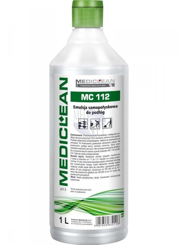 Emulsja Samopołyskowa do Podłóg MC-112 - Różne Pojemności 1l, 5l